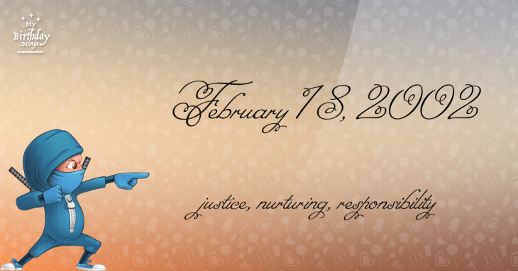 February 18, 2002 Birthday Ninja