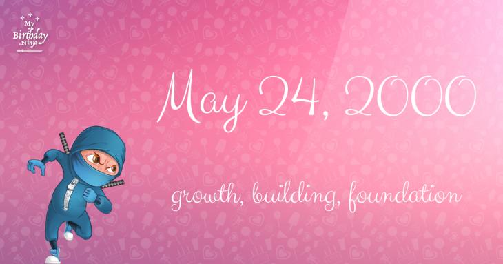 May 24, 2000 Birthday Ninja