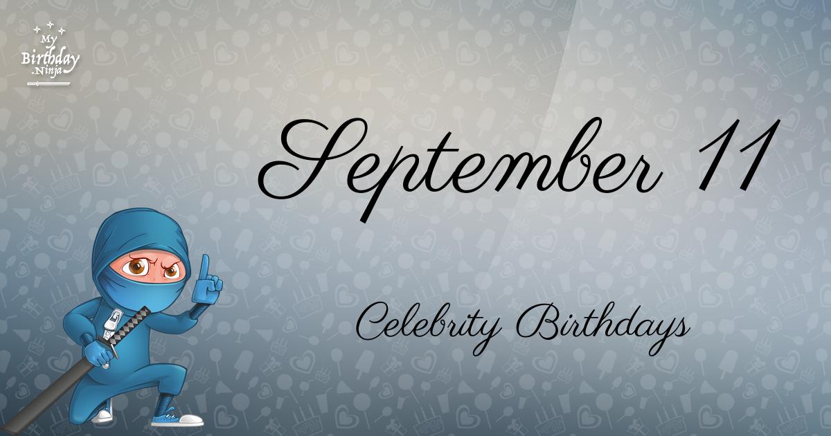 Celebrity birthdays in september 6