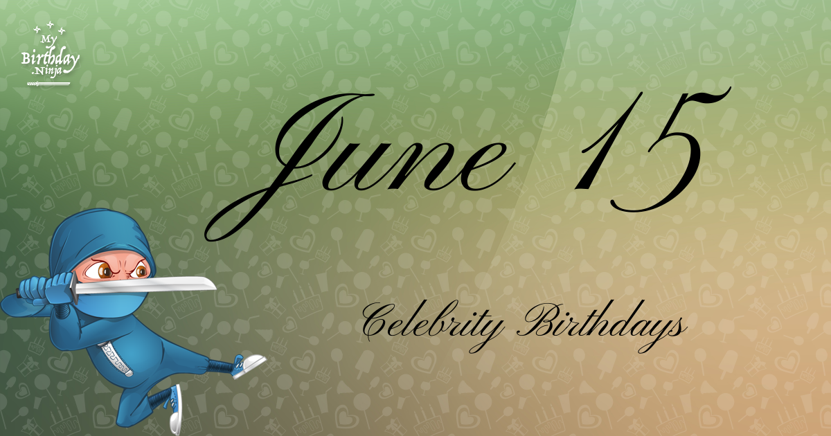 June 23 - Famous Birthdays - On This Day