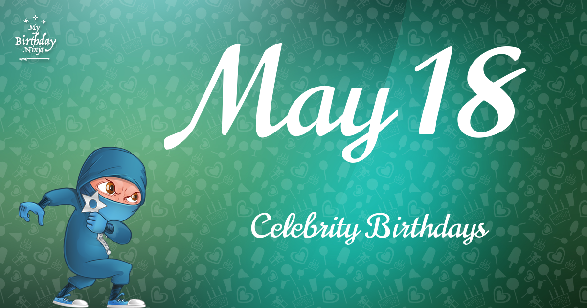Famous People's Birthdays, May, India Celebrity Birthdays