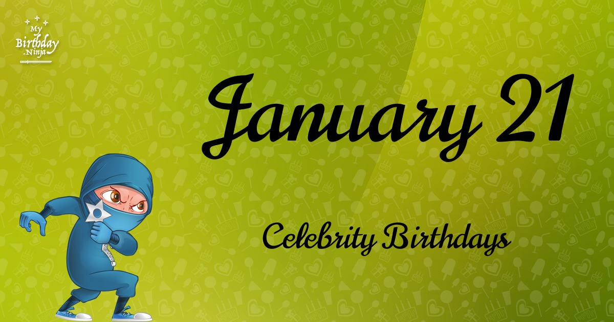 Celebrity Birthdays On January 5: Celebs Born On This Day ...