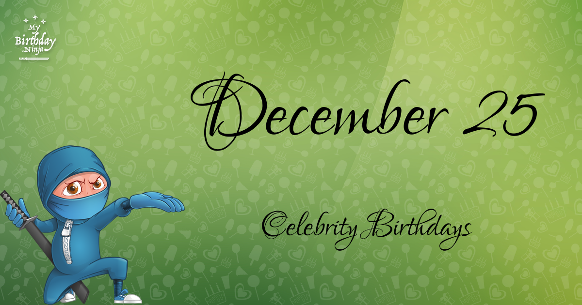 December 15 - Famous Birthdays - On This Day