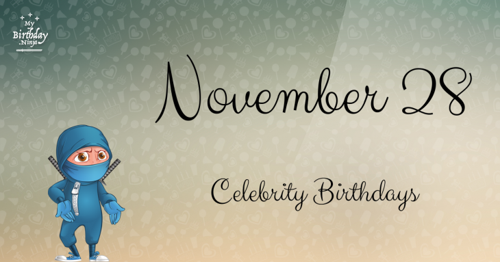 Celebrity Birthdays On November 16: Celebs Born On This ...
