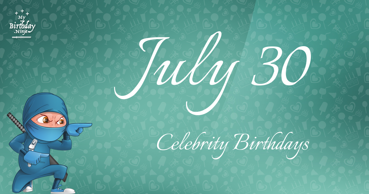 July 4 Birthdays Of Famous People - Characteristics And ...