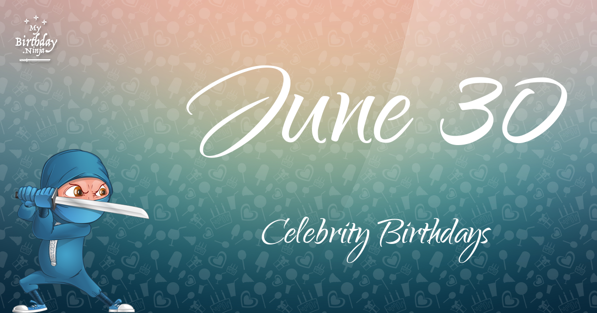 Famous People's Birthdays, July, India Celebrity Birthdays