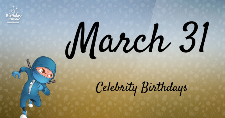 Celebrity birthdays for the week of April 14-20 - San ...