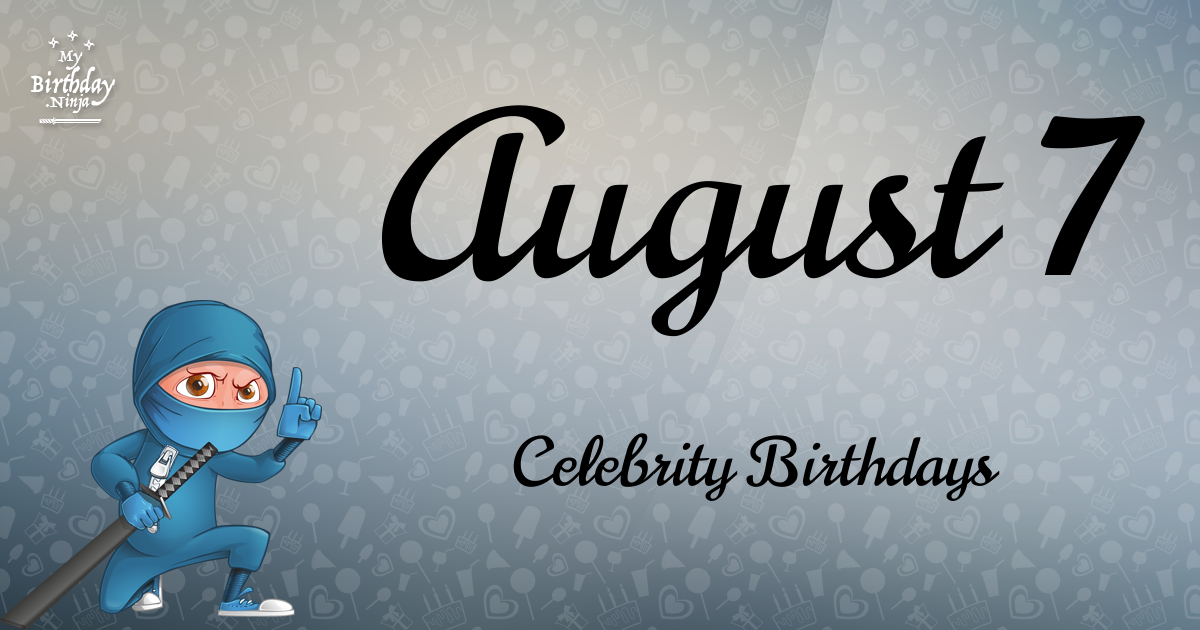 Famous People and Celebrities Birthdays, Celebrity ...