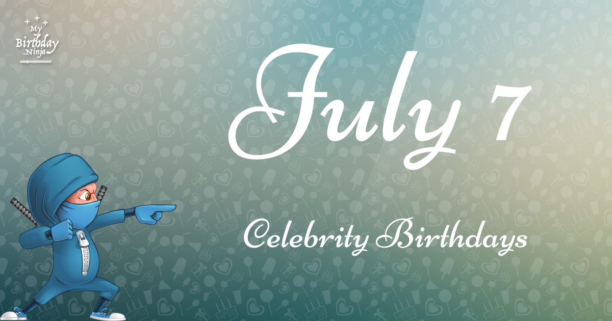 Celebrity Birthdays Today