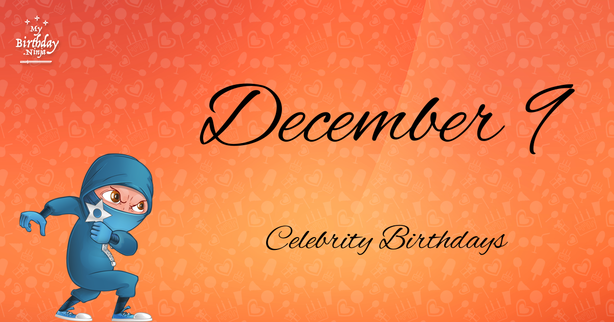 Celebrity birthdays for the week of Dec. 3-9 | WTOP