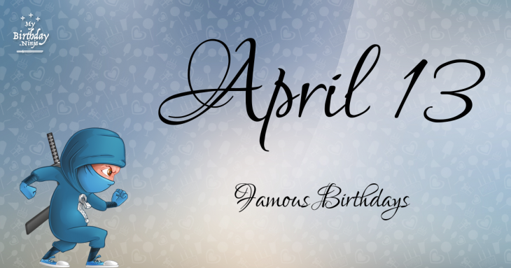 Famous April Birthdays by Holiday Insights