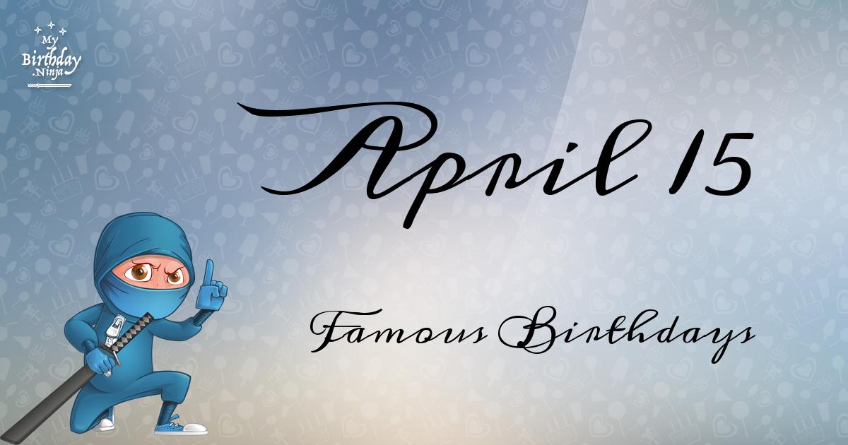 April 26 Famous Birthdays list - Holidayyear