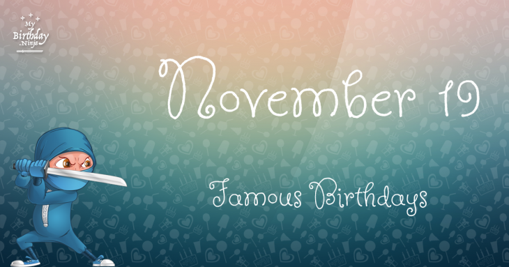 Celebrity Birthdays November 2nd