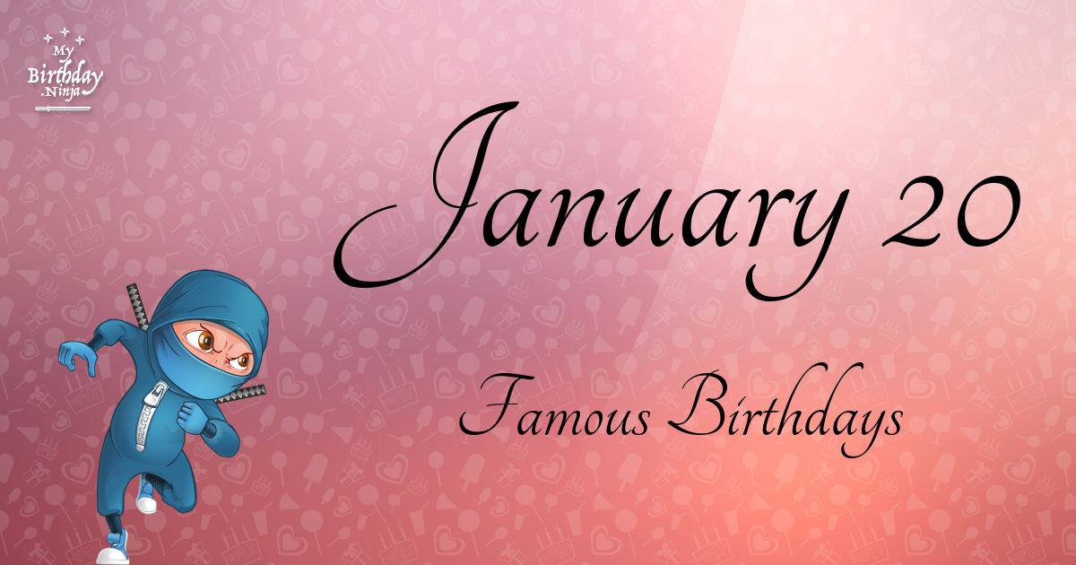 January 5 Famous Birthdays list - Holidayyear