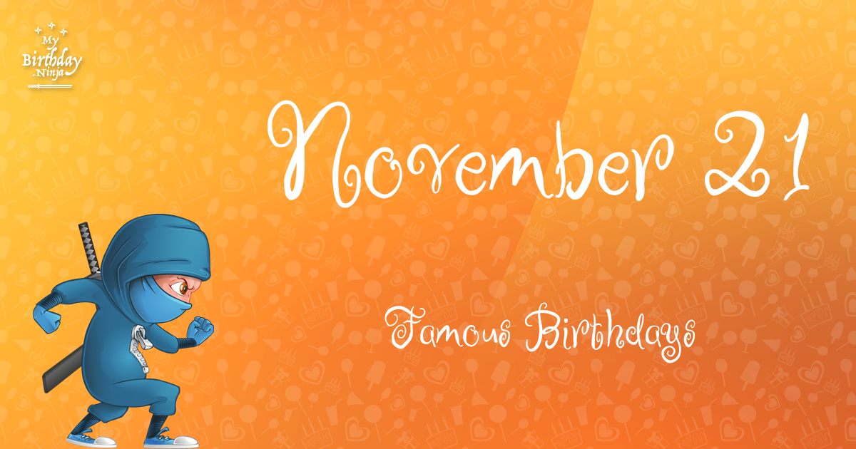 November Birthdays | Famous Birthdays
