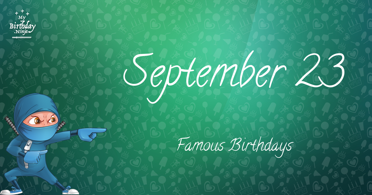 September Birthdays | Famous Birthdays