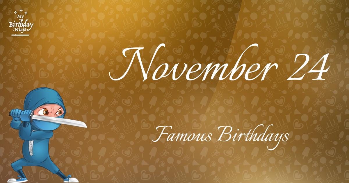 Famous Personalities / Celebrities Born on November 8
