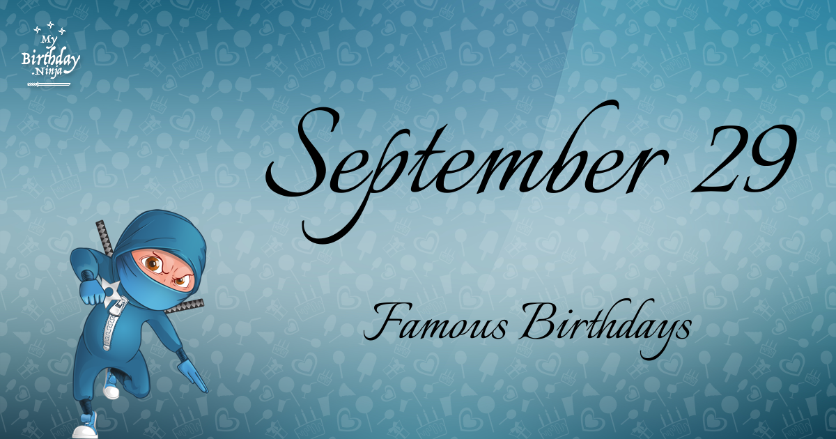 Famous People's Birthdays, September, India Celebrity ...
