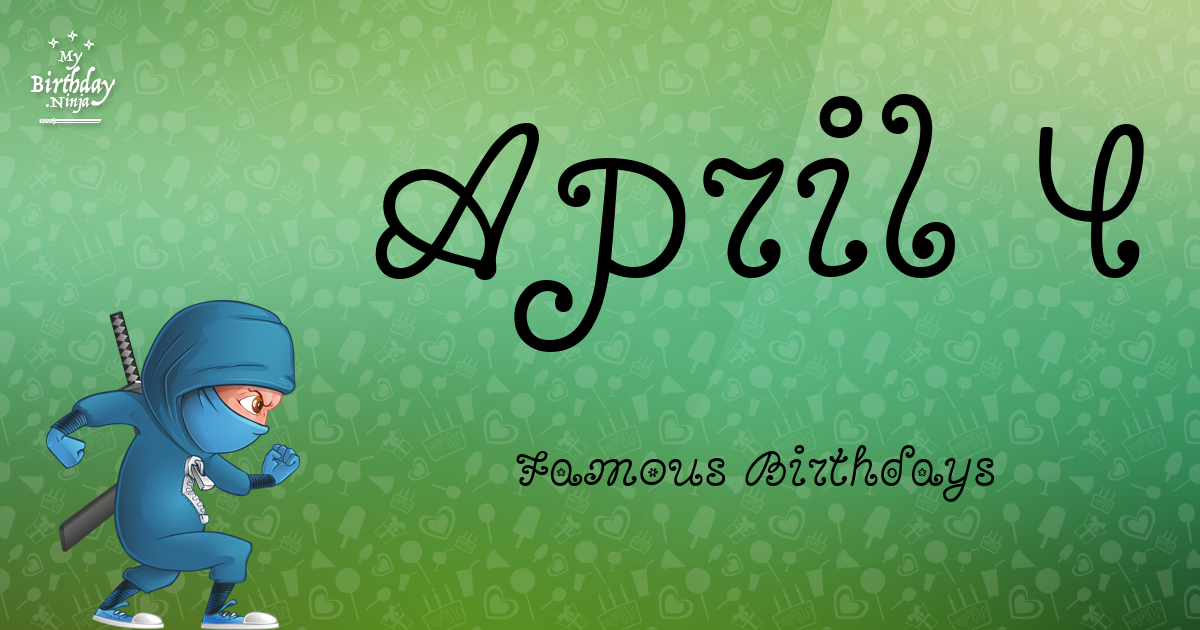 Celebrity Birthdays April 5th