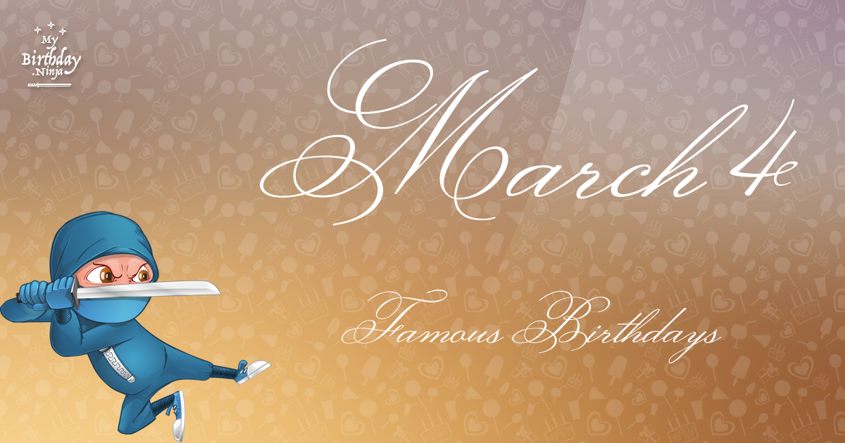 IMDb: Birth Month Day of 03-04 (Sorted by Popularity ...