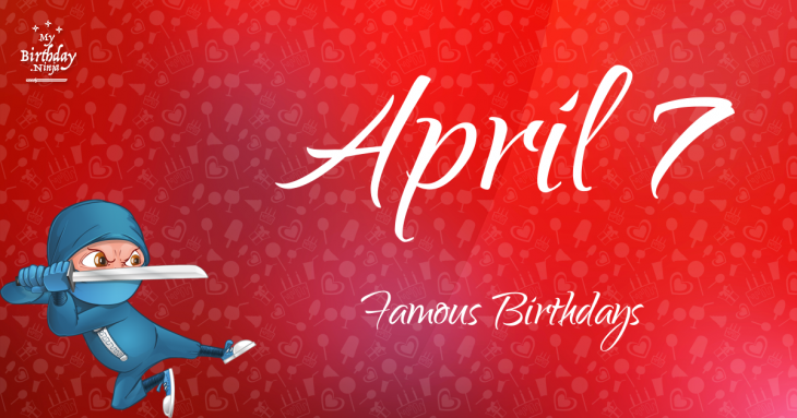Celebrity birthdays for the week of April 7-13 - apnews.com
