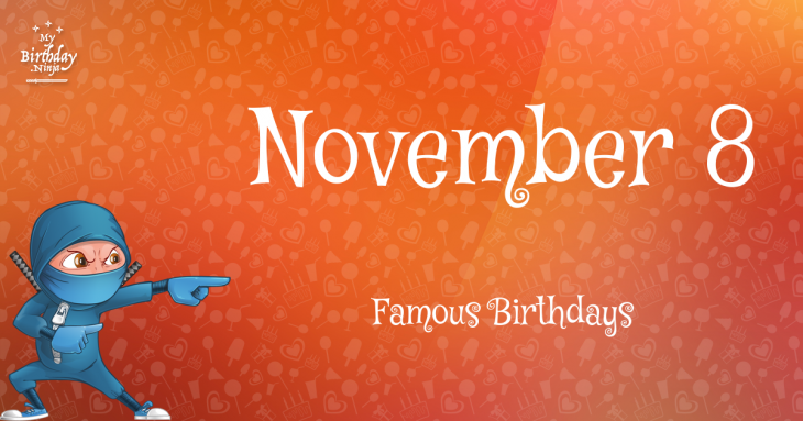 What celebrity was born on november 19