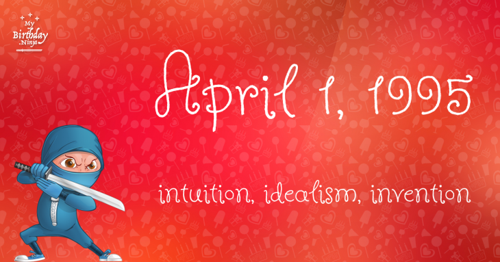 April 1, 1995 Birthday Ninja