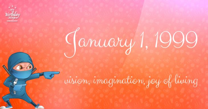 January 1, 1999 Birthday Ninja
