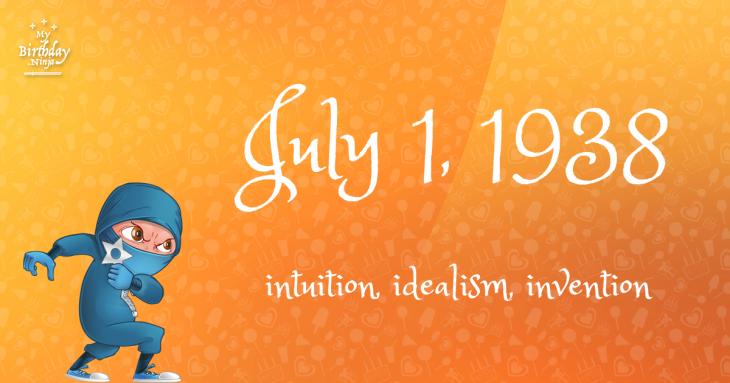 July 1, 1938 Birthday Ninja