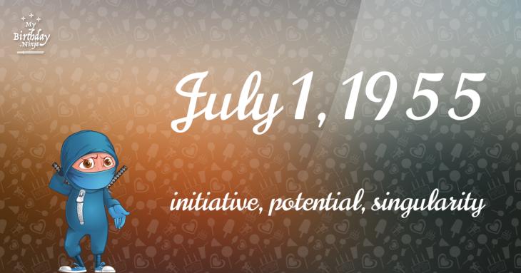 July 1, 1955 Birthday Ninja