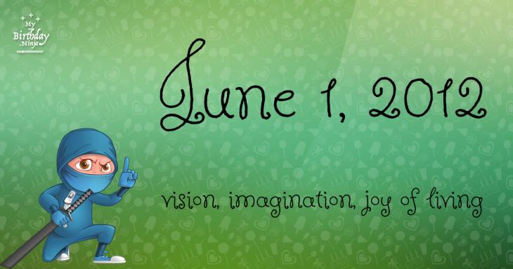 June 1, 2012 Birthday Ninja