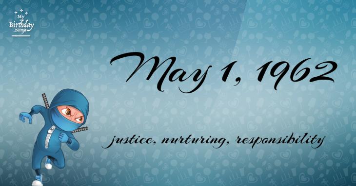 May 1, 1962 Birthday Ninja