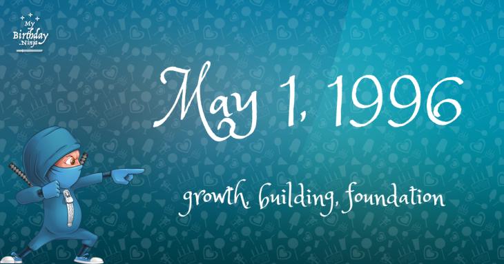 May 1, 1996 Birthday Ninja
