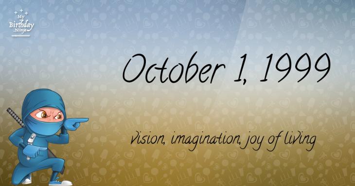 October 1, 1999 Birthday Ninja