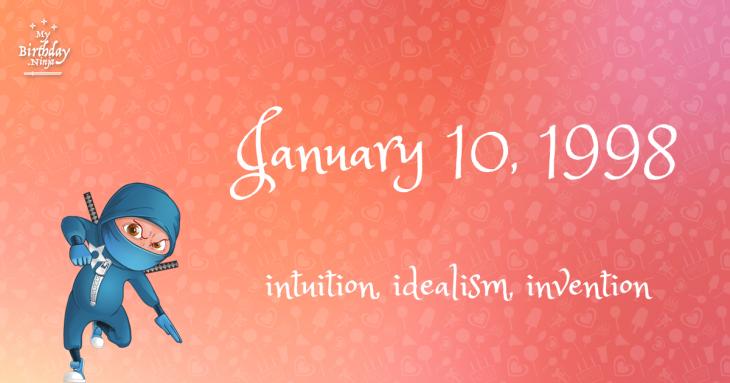 January 10, 1998 Birthday Ninja