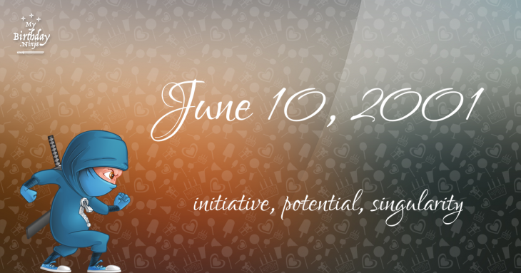 June 10, 2001 Birthday Ninja