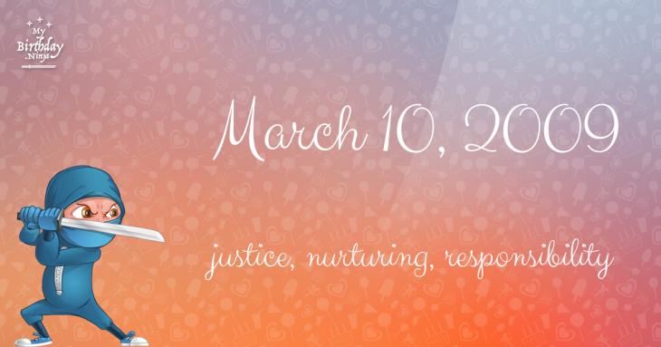 March 10, 2009 Birthday Ninja
