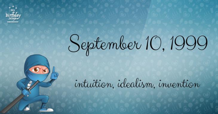 September 10, 1999 Birthday Ninja