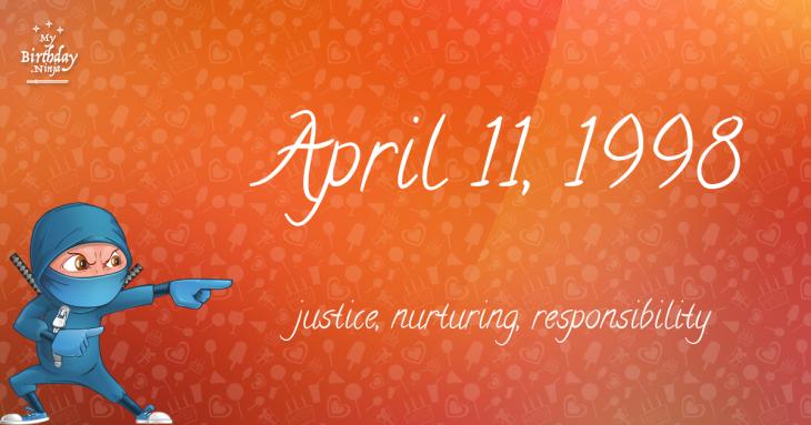 April 11, 1998 Birthday Ninja