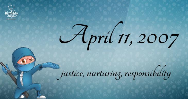 April 11, 2007 Birthday Ninja