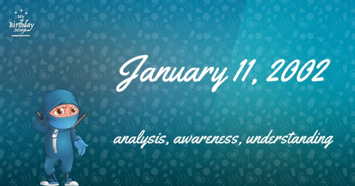 January 11, 2002 Birthday Ninja