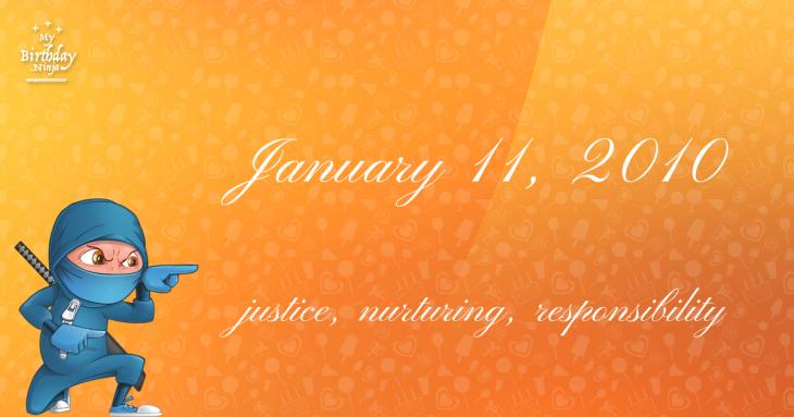 January 11, 2010 Birthday Ninja