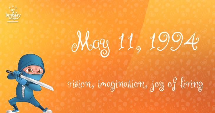 May 11, 1994 Birthday Ninja
