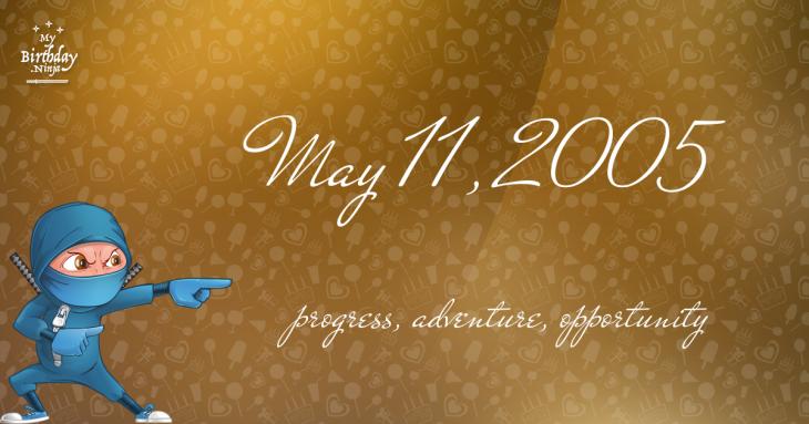 May 11, 2005 Birthday Ninja