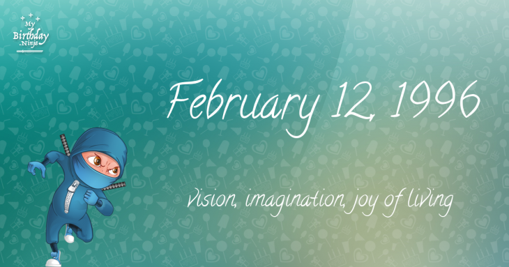 February 12, 1996 Birthday Ninja
