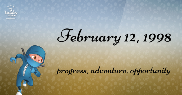 February 12, 1998 Birthday Ninja