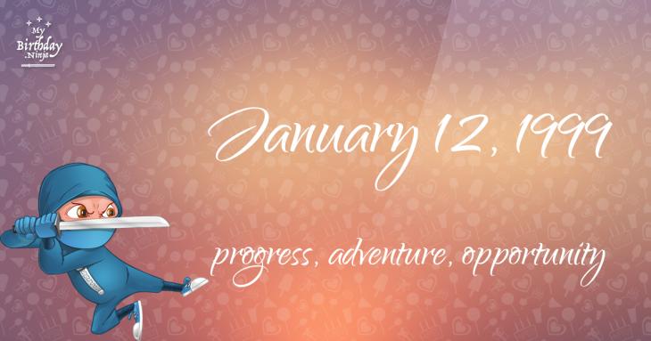 January 12, 1999 Birthday Ninja