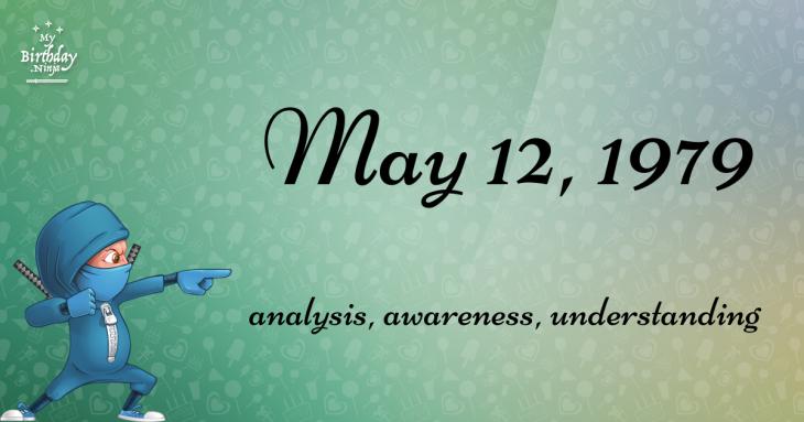 May 12, 1979 Birthday Ninja