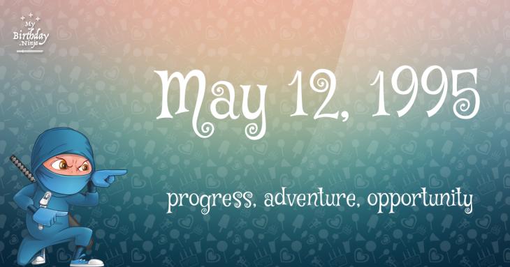 May 12, 1995 Birthday Ninja