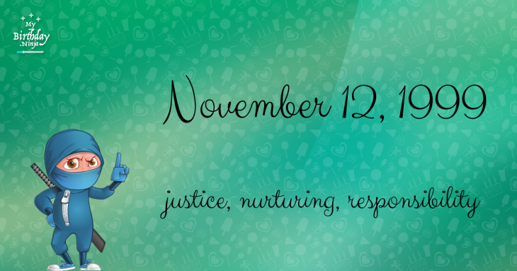 November 12, 1999 Birthday Ninja